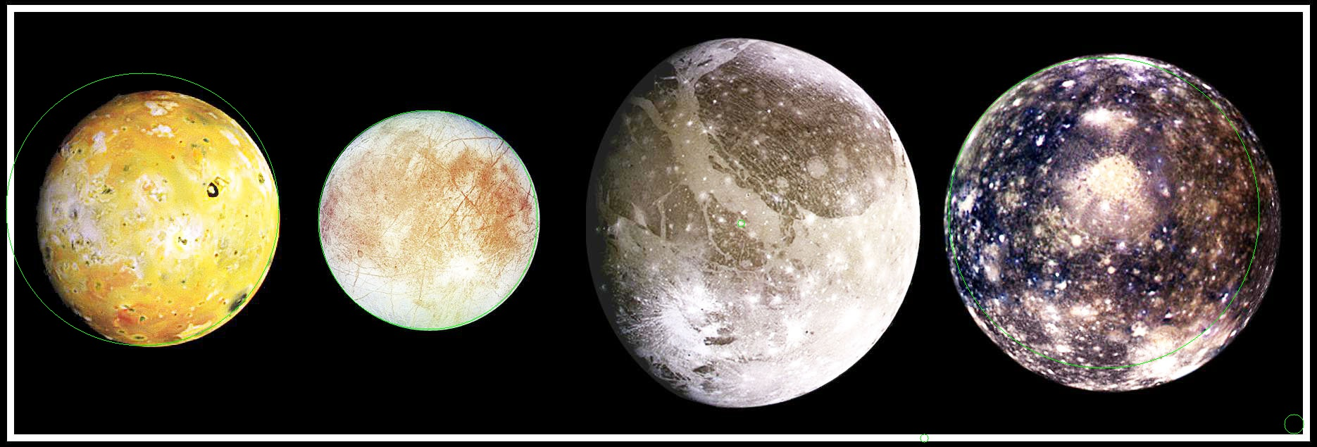 circled moons